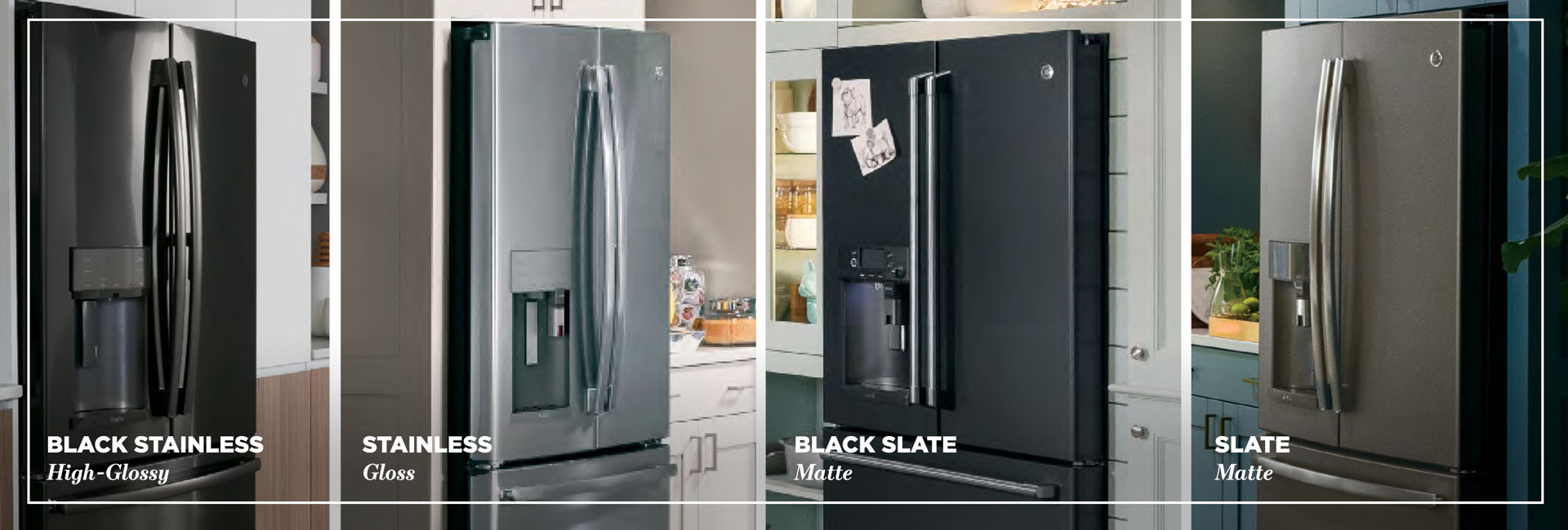 GE Trend-Setting Premium Appliance Finishes