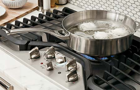 Stainless Steel Cooktops.