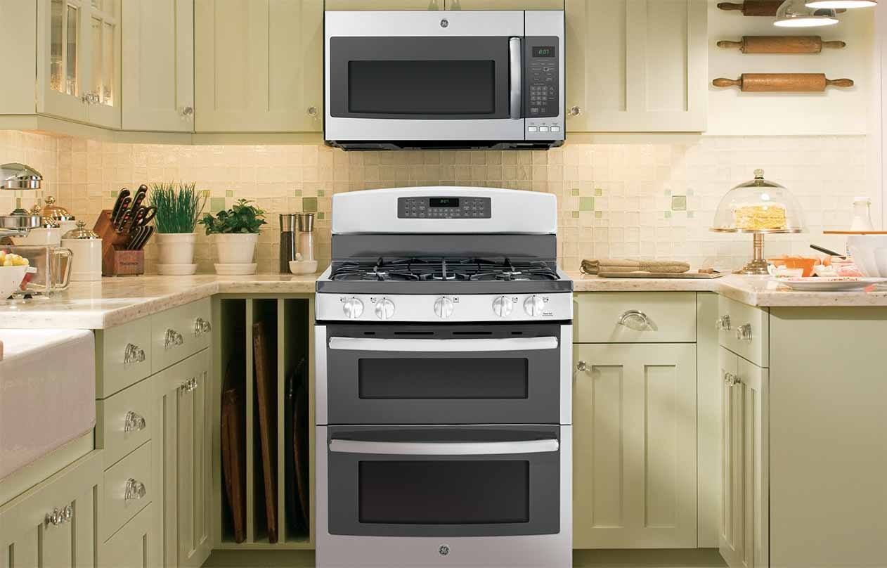 GE Appliances Stainless Steel Ranges