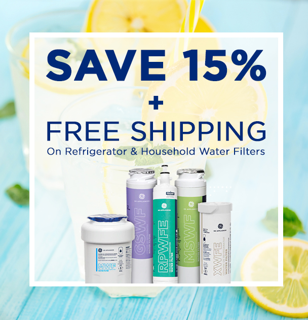 Save 15% + FREE shipping on Refrigerator & Household water filters. Use Promo Code: SUMR20