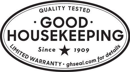 Good Housekeeping Seal — Quality Tested Since 1909