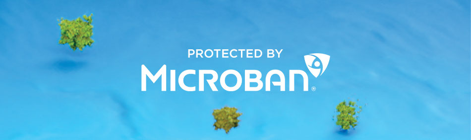 Protected by Microban