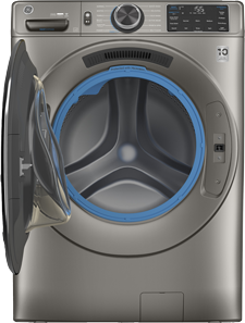thumbnail size Next Gen front-load washer in Satin Nickel