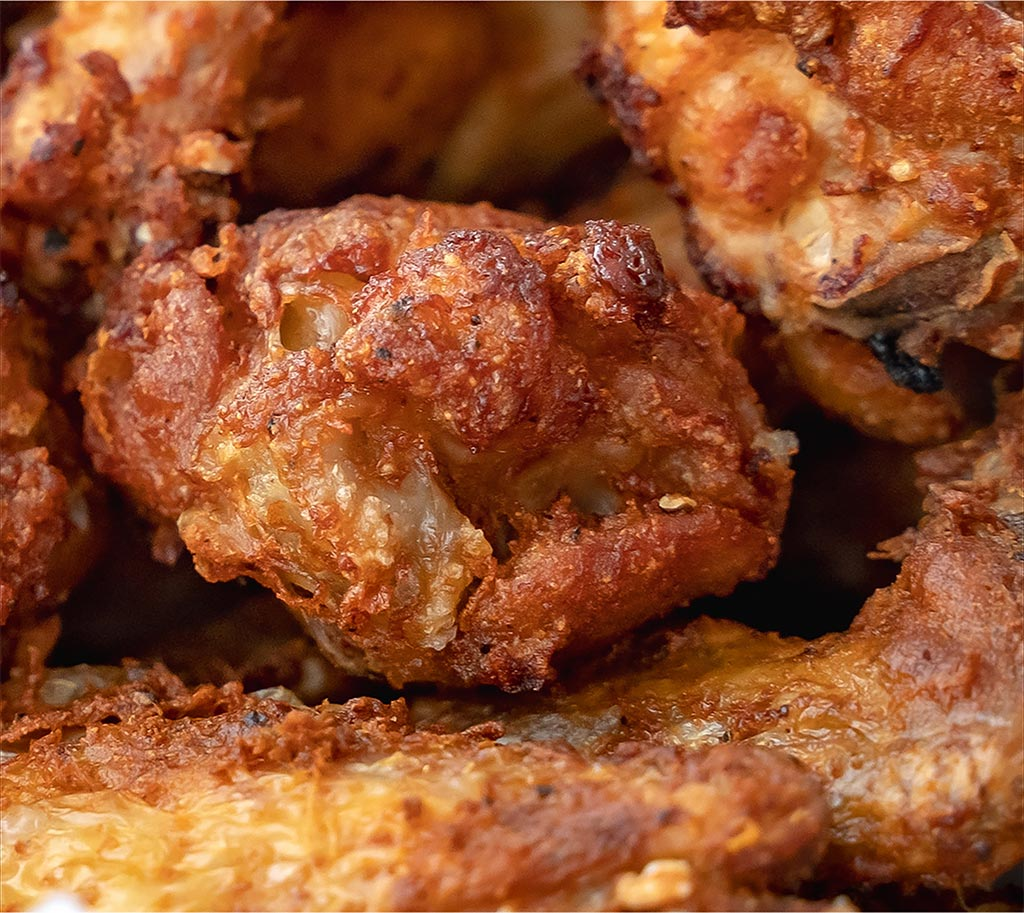 Golden Brown Crispy Air Fried Chicken