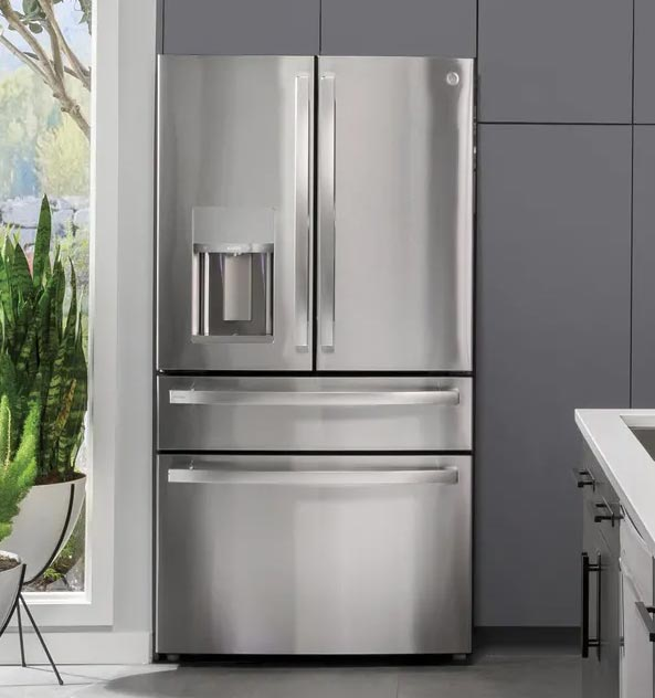 GE Profile French Door refrigerator.