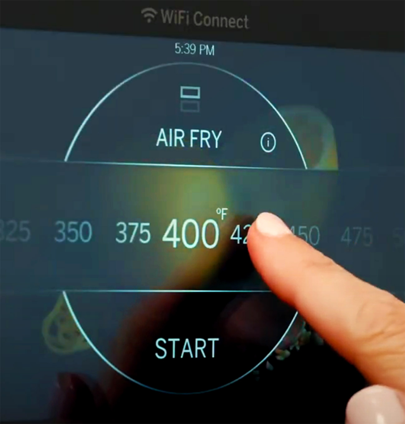 Air Fry Touch Control Panel